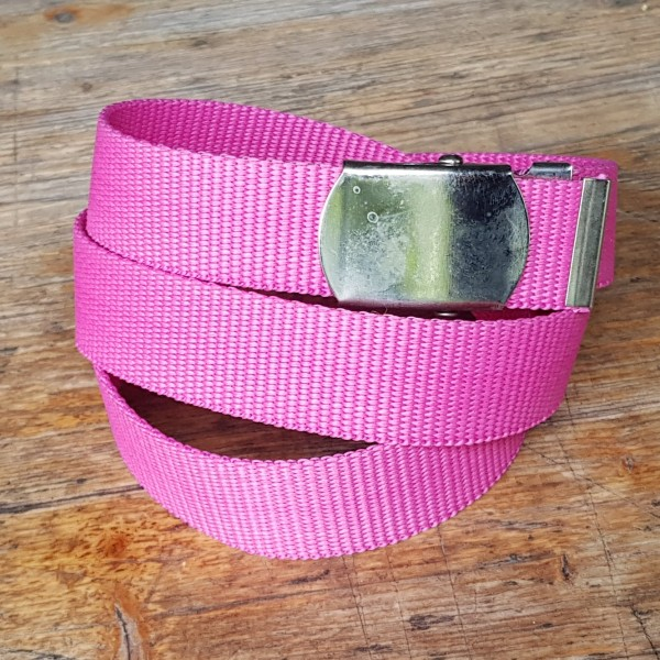 Stoffgürtel pink, 3cm breit