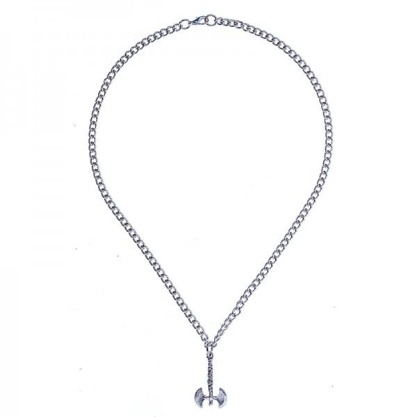 PK 5166-1 Halskette nordic axe, silberfarben