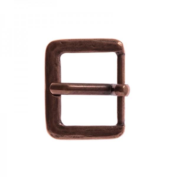 Antik 3, 3cm, kupferfarbene Mittelalter-Schließe
