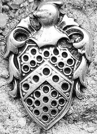 N-174-1 Wappen, Beschlag silberfarben