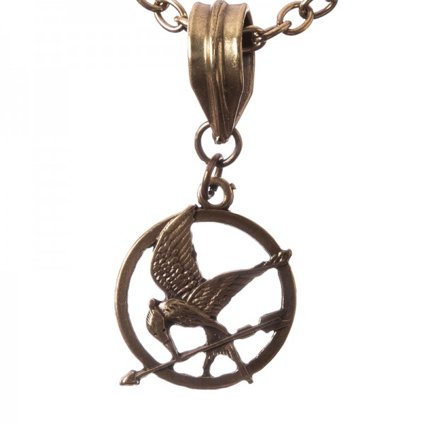"PK 5178 Halskette mit Anhänger - ""Mocking Jay"""