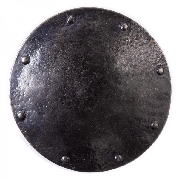 Ragnar, 4cm, eisenfarbene Mittelalter-Schließe, Wikinger-Schild