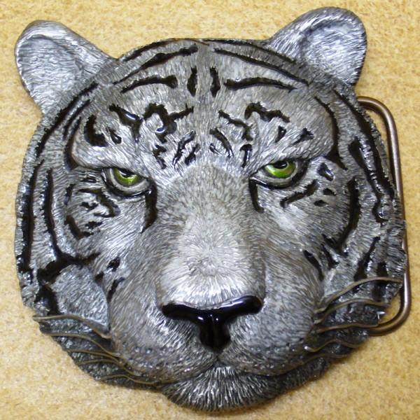 Tiger, 4cm Gürtelschließe