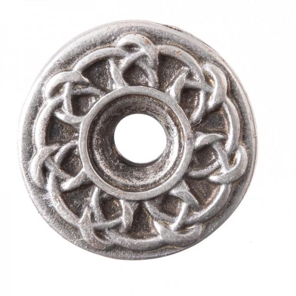 Celtic Ringknot, silberfarbener Beschlag