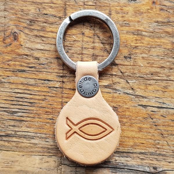 Schlüsselanhänger ICHTHYS - eucharistisches Fisch-Symbol