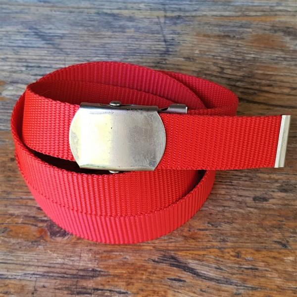 Stoffgürtel rot, 3cm breit