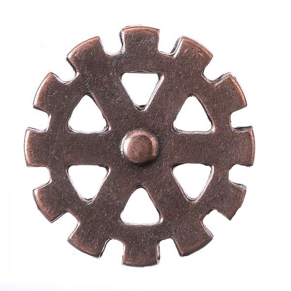 Wheel, kupferfarbener Beschlag