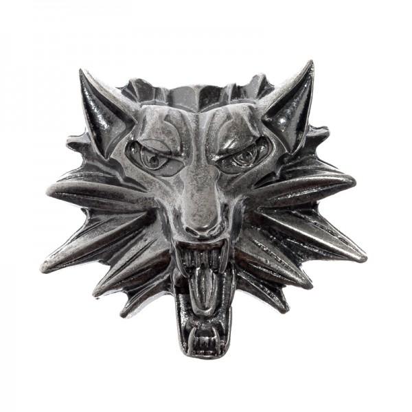 Wolfkopf Lupus, eisenfarbener Beschlag