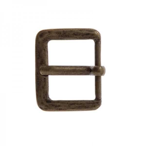 Antik 3, 3cm, altmessingfarbene Mittelalter-Schließe