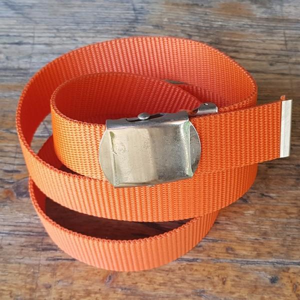 Stoffgürtel orange, 3cm breit