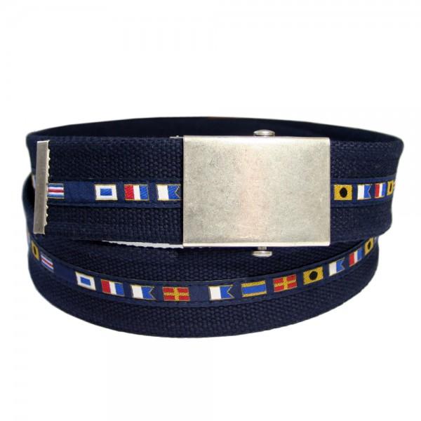 Stoffgürtel Koppel, Maritim marine/navy