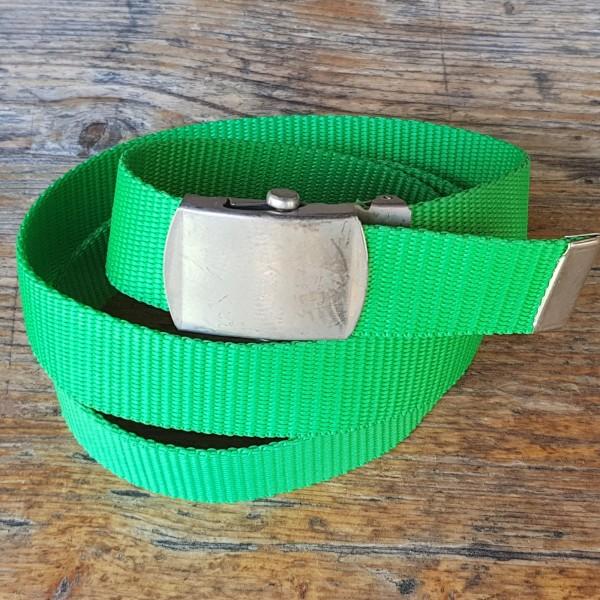 Stoffgürtel grün, 3cm breit