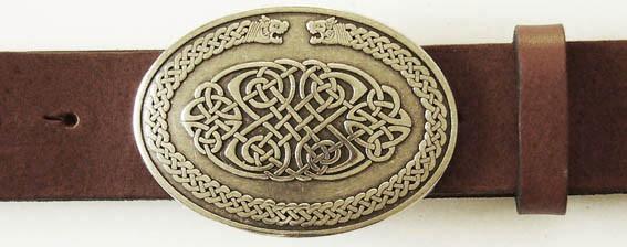 Celtic Dragons, 4cm, keltische Gürtel-Schließe