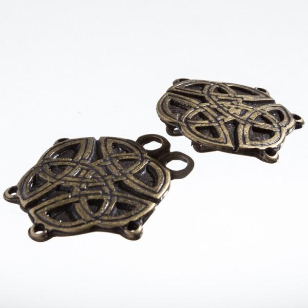 Tassel Celtic-Knot, altmessingfarben