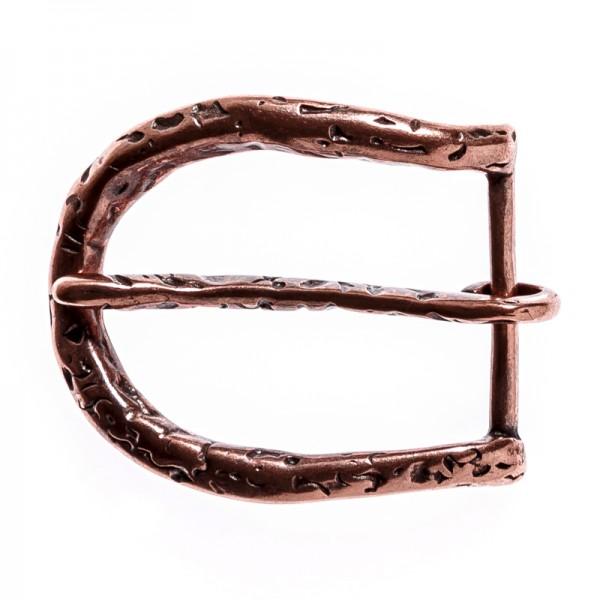 Forged, 4cm, kupferfarbene Dorn-Schließe