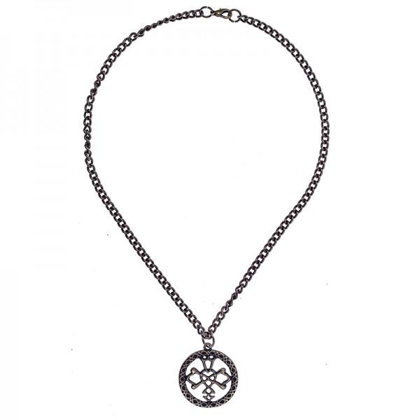 Halskette Celtic Wedding Knot, altmessingfarben