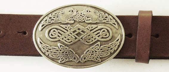 Celtic Lions, 4cm, keltische Gürtelschließe