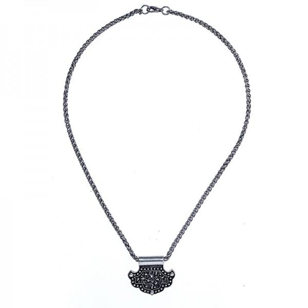 PK 5167-1 Halskette birka hammer, silberfarben