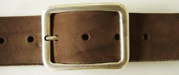 Icho, 4cm, silberne elegante Dorn-Vollschließe