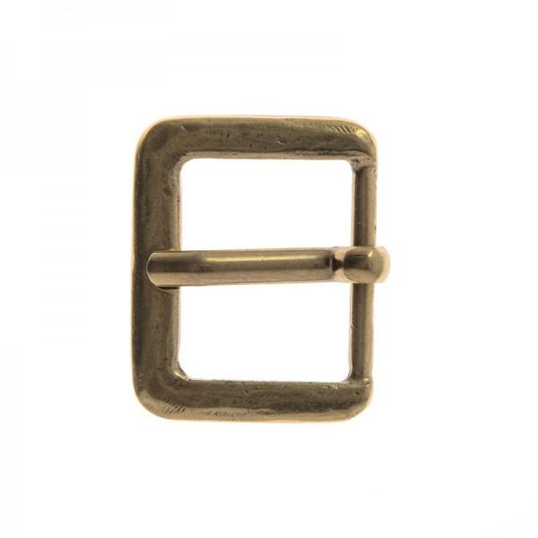 Antik 3, 3cm, messingfarbene Mittelalter-Schließe