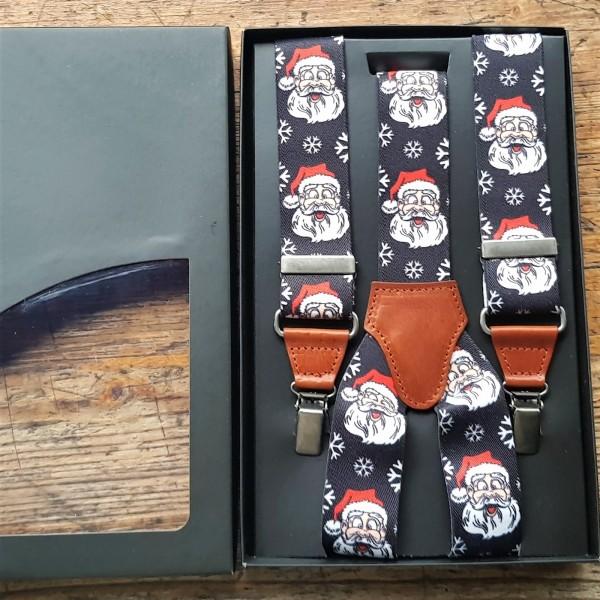 Hosenträger, Weihnachtsmann schwarz