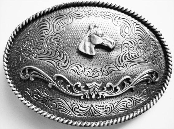 B 9006-3 Western Rodeo Buckle