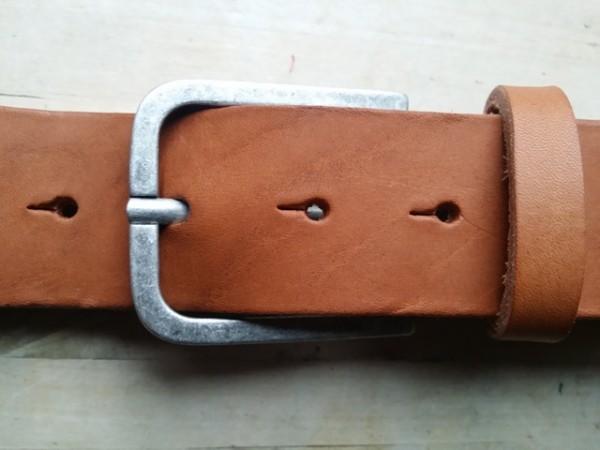 Stretto, 4cm, zinnfarbene rusatikale Dorn-Halbschließe
