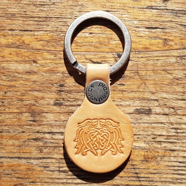 Schlüsselanhänger Mittelalter Keltischer Drachen-Knoten
