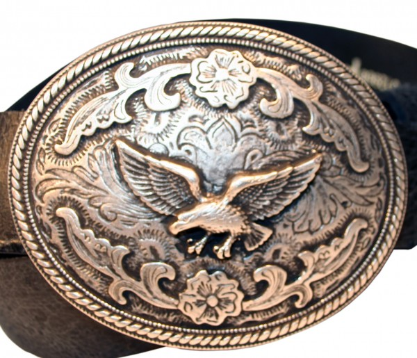B 9000-1 Western Rodeo Buckle EAGLE