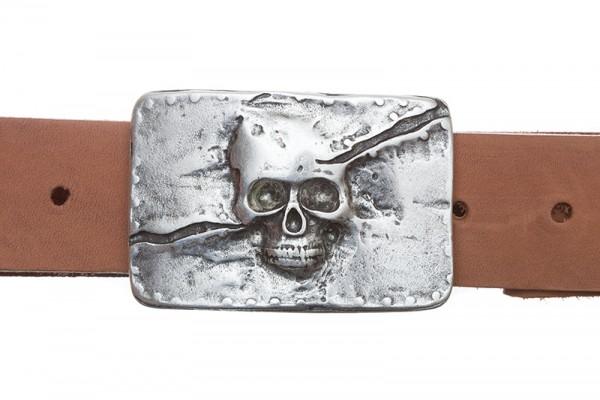 Deadman, silberfarbene Piratenschließe