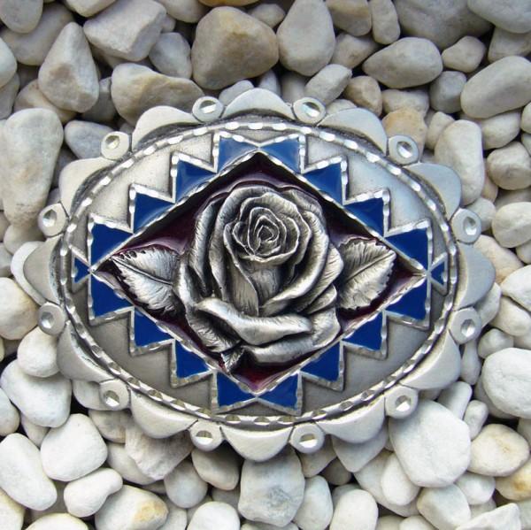 Western Rose, 4cm, Schließe