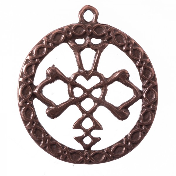 Anhänger Celtic Wedding Knot, kupferfarben